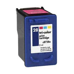 Generic Brand (HP 28) Remanufactured Color Ink Cartridge