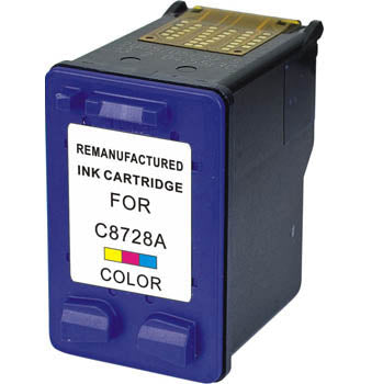 Generic Brand (HP 28) Remanufactured Tri Color, Standard Yield Ink Cartridge, Generic C8728A
