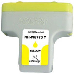 Generic Brand (HP 2) Remanufactured Yellow Ink Cartridge