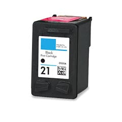Remanufactured/Generic HP 21 (C9351AN) Ink Cartridge - Black