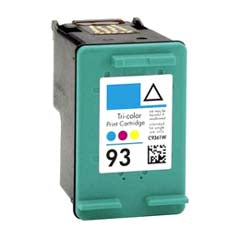 Generic Brand (HP 93) Remanufactured Color Ink Cartridge