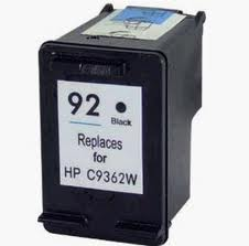 Generic Brand (HP 92) Remanufactured Black (Made In USA) Ink Cartridge