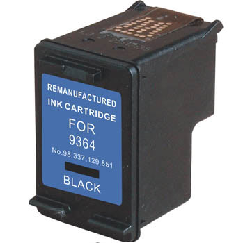 Remanufactured/Compatible HP 98 Black Ink Cartridge - Databazaar.com