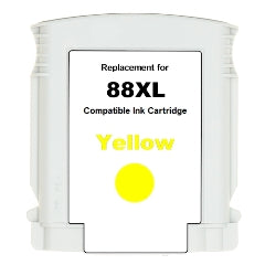 Generic Brand (HP 88XL) Remanufactured Yellow Ink Cartridge