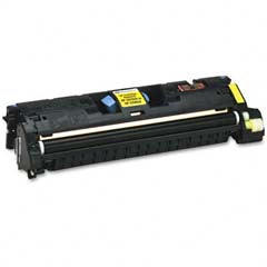 Generic Brand (HP 121A) Remanufactured Yellow (Made In USA) Toner Cartridge