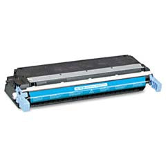HP 645A (HP C9731A) Toner Remanufactured Cyan Toner Cartridge