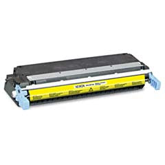 Generic Brand (HP 645A) Remanufactured Yellow Toner Cartridge