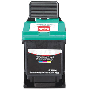 Generic Brand (HP 75) Remanufactured Color Ink Cartridge