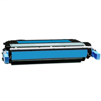 Generic Brand HP CB381A Remanufactured Cyan, Standard Yield Toner Cartridge