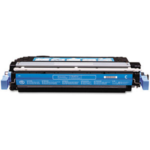 Generic Brand (HP 642A) Remanufactured Cyan (Made In USA) Toner Cartridge