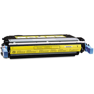Generic Brand (HP 642A) Remanufactured Yellow (Made In USA) Toner Cartridge