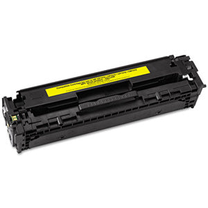 HP 304A Toner Remanufactured Yellow Toner Cartridge - Databazaar.com