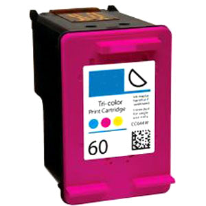 Generic Brand (HP 60) Remanufactured Color Ink Cartridge