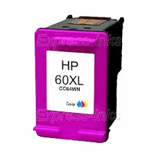 Generic Brand (HP 60XL) Remanufactured Color (Made In USA) Ink Cartridge