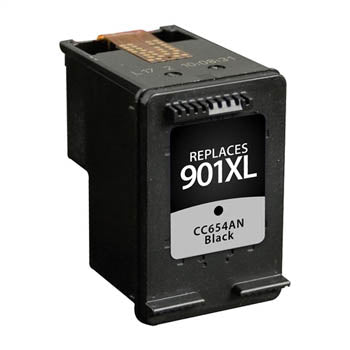 Generic Brand (HP 901XL) Remanufactured Black, High Yield Ink Cartridge, Generic CC654AN