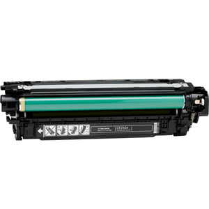 HP 504A (HP CE250A) Toner Remanufactured Black Toner Cartridge