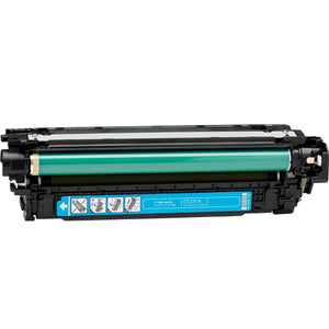Generic Brand (HP 504A) Remanufactured Cyan, Standard Yield (Made In USA) Toner Cartridge