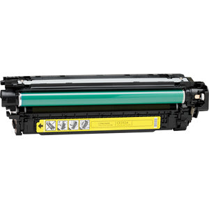 Generic Brand (HP 504A) Remanufactured Yellow, Standard Yield Toner Cartridge