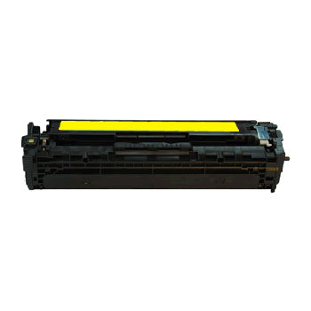 Generic Brand (HP 128A) Remanufactured Yellow, Standard Yield Toner Cartridge, Generic CE322A