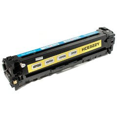 Generic Brand (HP 128A) Remanufactured Yellow Toner Cartridge