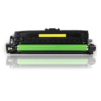 Generic Brand (HP 507A) Remanufactured Yellow, Standard Yield Toner Cartridge, Generic CE402A