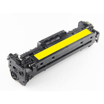 Generic Brand HP CF382A Remanufactured Yellow, Standard Yield Toner Cartridge