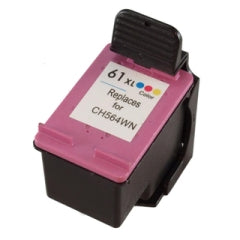 Generic Brand (HP 61XL) Remanufactured Tri-Color Ink Cartridge