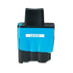Compatible Brother LC-41C Cyan Ink Cartridge