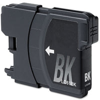 Compatible/Generic Brother LC-61BK Ink Cartridge - Black | Databazaar