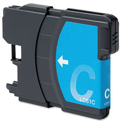 Compatible Brother LC-61C Cyan Ink Cartridge