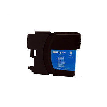 Generic Brand (Brother LC65C) Remanufactured Cyan, High Yield Ink Cartridge, Generic LC65C