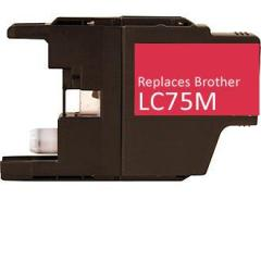 Compatible/Generic Brother LC75M Ink Cartridge, Magenta | Databazaar