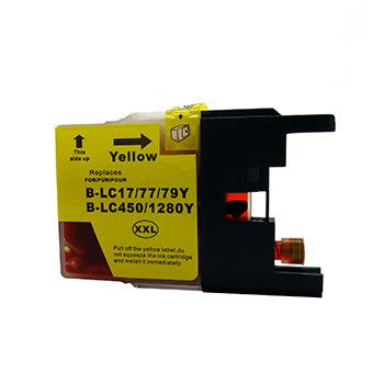 Generic Brand (Brother LC79Y) Remanufactured Yellow, Extra High Yield Ink Cartridge, Generic LC79Y