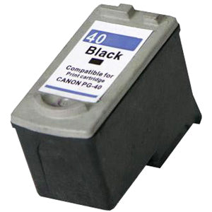 Compatible/Generic Canon PG-40 Ink Cartridge, Black | Databazaar
