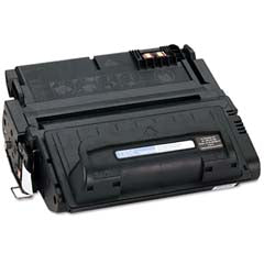 HP 42A (HP Q5942A) Toner Remanufactured/Generic Black Toner Cartridge