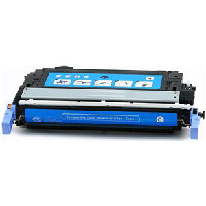 Generic Brand (HP 644A) Remanufactured Cyan Toner Cartridge
