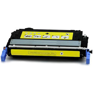 Generic Brand (HP 644A) Remanufactured Yellow Toner Cartridge