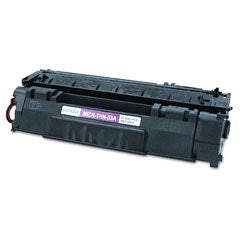 Generic Brand (HP 53A) Remanufactured Black, Standard Yield Toner Cartridge