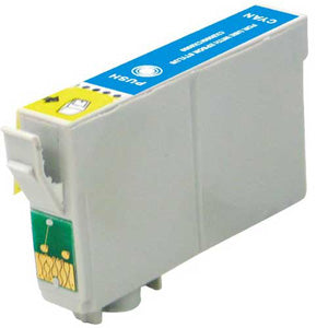 Compatible Epson 68 Cyan, High Yield Ink Cartridge, Epson T068220