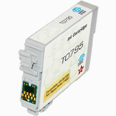 Compatible/Generic Epson 79 (Epson T079520) Ink Cartridge - Light Cyan