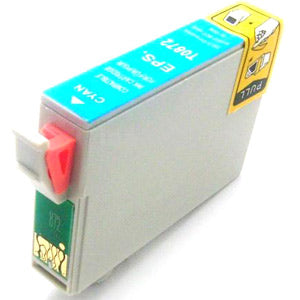 Compatible/Generic Epson 87 (Epson T087220) Ink Cartridge - Cyan