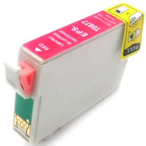 Compatible Epson 87 Red Ink Cartridge, Epson T087720