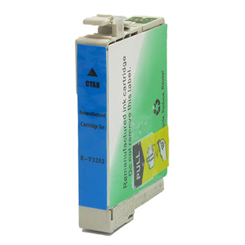 Remanufactured/Generic Epson 125 (Epson T125220) Ink Cartridge - Cyan