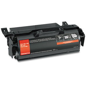 Compatible/Remanufactured Lexmark T650H21A Toner Cartridge - Black