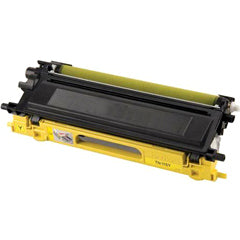 Compatible Brother TN-115Y Yellow, High Yield (Made In USA) Toner Cartridge