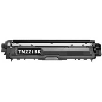 Generic Brand (Brother TN-221BK) Remanufactured Black, Standard Yield Toner Cartridge, Generic TN221BK