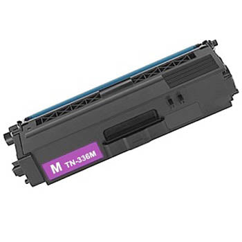 Generic Brand (Brother TN-331M) Remanufactured Magenta Toner Cartridge, Generic TN331M
