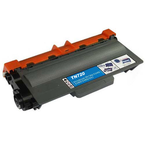 Premium Compatible Brother TN-720 Black Toner Cartridge