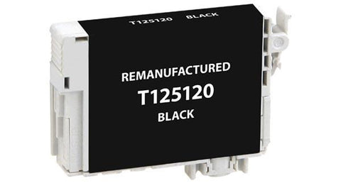 Remanufactured/Compatible Epson T125120 Ink cartridge - Black