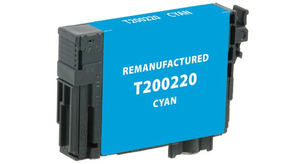 Remanufactured/Compatible Epson T200220 Ink Cartridge - Cyan